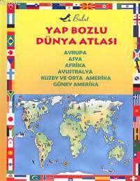 Yap Bozlu Dünya Atlası; Avrupa, Asya, Afrika, Avustralya, Kuzey ve Orta Amerika, Güney Amerika