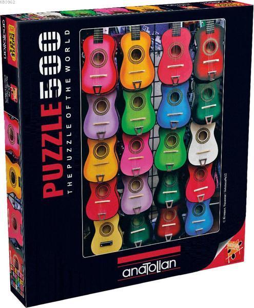 Anatolian Müzigin Renkleri / Colored Of Music 500 Parça 3579