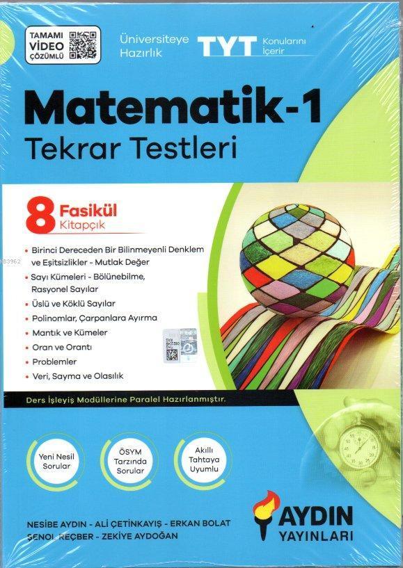 Aydın TYT Matematik Tekrar Testleri
