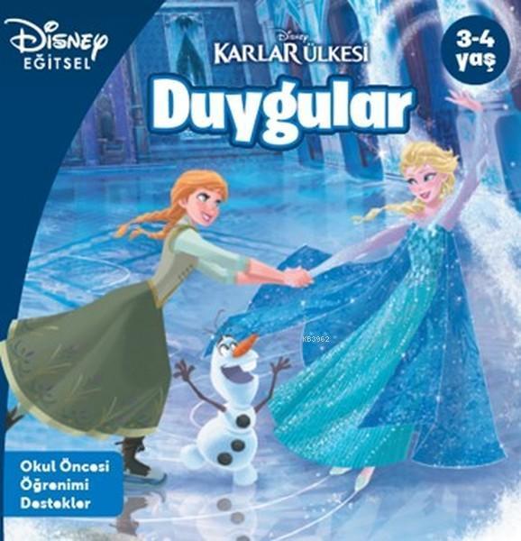 Disney Eğitsel Karlar Ülkesi - Duygular; 3-4 Yaş