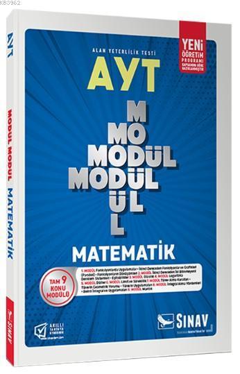 Sınav Dergisi Yayınları AYT Matematik Modül Modül Konu Anlatımlı Sınav Dergisi