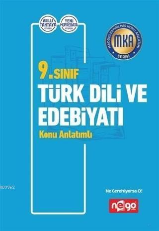 9. Sınıf Türk Dili ve Edebiyatı Konu Anlatımlı