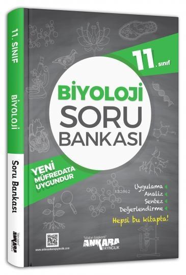 Ankara Yayınları 11. Sınıf Biyoloji Soru Bankası Ankara