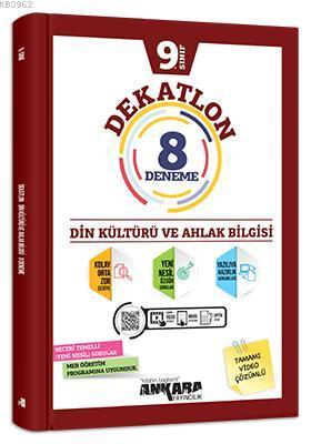 9.Sınıf Dekatlon Din Kültürü ve Ahlak Bilgisi 8 Deneme
