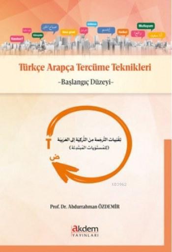 Türkçe Arapça Tercüme Teknikleri