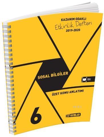 Hız Yayınları 6. Sınıf Sosyal Bilgiler Özet Konu Anlatımı Hız