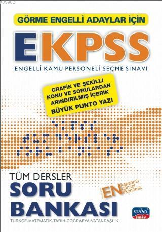 Görme Engelliler İçin EKPSS Soru Bankası / Türkçe-Matematik-Tarih-Coğrafya-Vatandaşlık