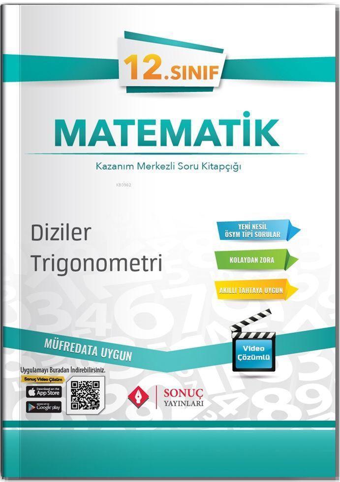 Sonuç Yayınları 12. Sınıf Diziler Trigonometri Sonuç