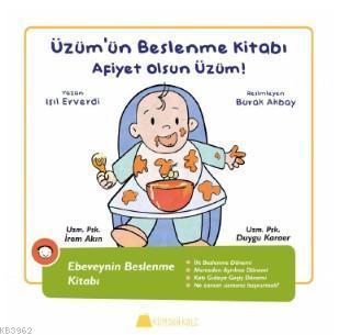Üzüm'ün Beslenme Kitabı - Afiyet olsun Üzüm !