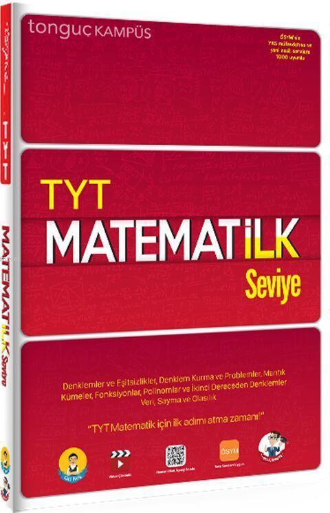 Tonguç Yayınları TYT Matematik İlk Seviye Soru Bankası Tonguç