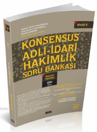 Konsensus Adli İdari Hakimlik Borçlar Hukuku Soru Bankası
