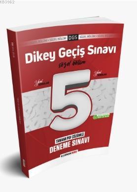 2021 DGS Yeni Nesil 5 li Sözel Deneme Sınavı Tamamı PDF Çözümlü
