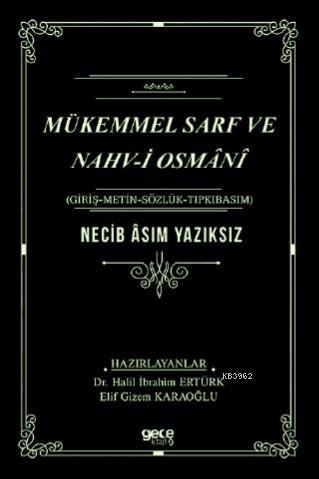 Mükemmel Sarf ve Nahvi Osmani