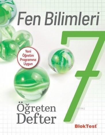 BlokTest Yayınları 7. Sınıf Fen Bilimleri Öğreten Defter BlokTest