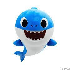 Baby Shark Ailesi Bebek Shark Peluş Sesli