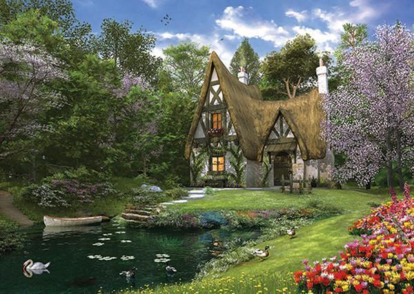 Anatolian Puzzle Göl Evi/Spring Lake Cottage 4900