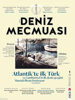 Deniz Mecmuası dergisi 1. Sayı