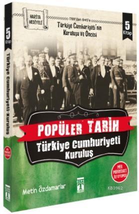 Popüler Tarih Türkiye Cumhuriyeti: Kuruluş - Set (5 Kitap)