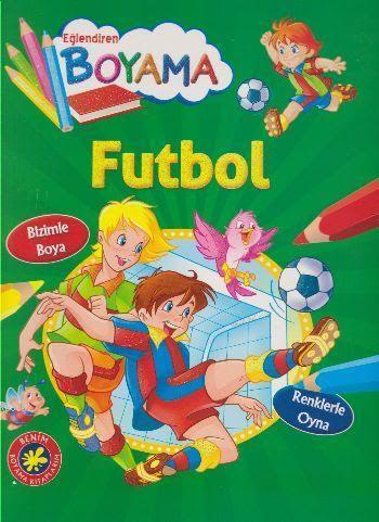 Futbol; Eğlendiren Boyama Serisi