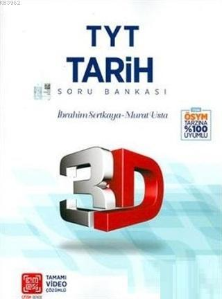 Çözüm TYT 3D Tarih Soru Bankası Yeni