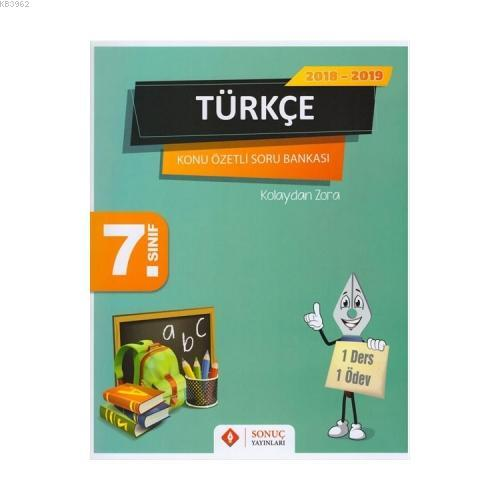 7. Sınıf Türkçe Konu Özetli Soru Bankası