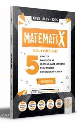 2021 KPSS ALES DGS MatematiX Soru Fasikülleri 4