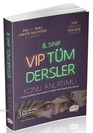 Editör 8. Sınıf VIP Tüm Dersler Konu Anlatımlı Yeni