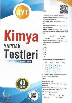 AYT Kimya Yaprak Testleri 40 Test
