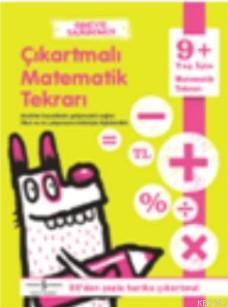 Ödeve Yardımcı Çıkartmalı Matematik Tekrarı 9