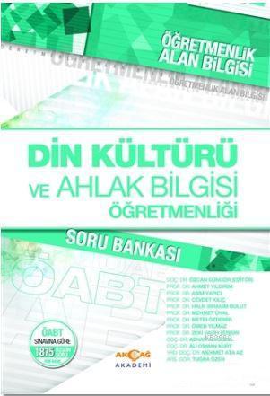 Öğretmenlik Alan Bilgisi Din Kültürü ve Ahlak Bilgisi Öğretmenliği Soru Bankası