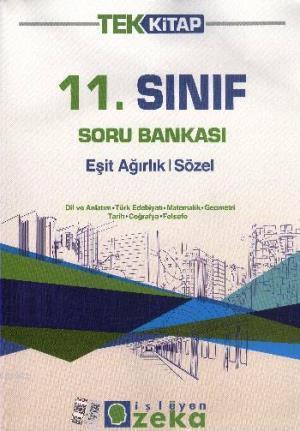 11. Sınıf Soru Bankası Eşit Ağırlık Sözel