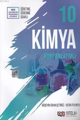 Nitelik Yayınları 10. Sınıf Kimya Konu Anlatımlı Nitelik