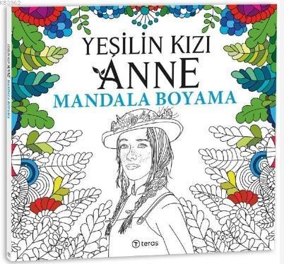 Yeşilin Kızı Anne Mandala Boyama