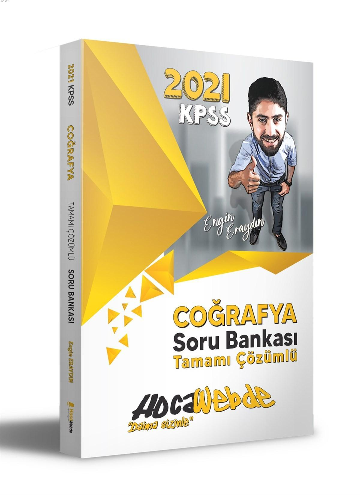 HocaWebde Yayınları 2021 KPSS Coğrafya Soru Bankası
