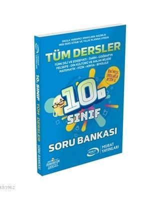 Murat Yayınları 10. Sınıf Tüm Dersler Soru Bankası Murat