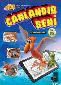 Dinozorlar Sihirli Boyama Kitabı
