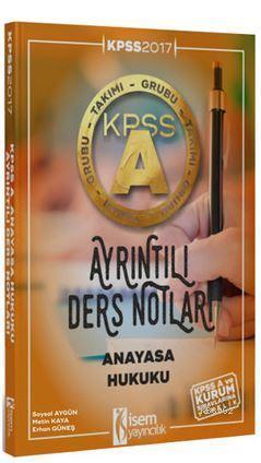 Kpss A Grubu Anayasa Hukuku Ayrıntılı Ders Notları 2017