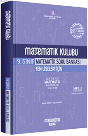 Matematik Kulübü 9. Sınıf Matematik Soru Bankası; Fen Liseleri İçin