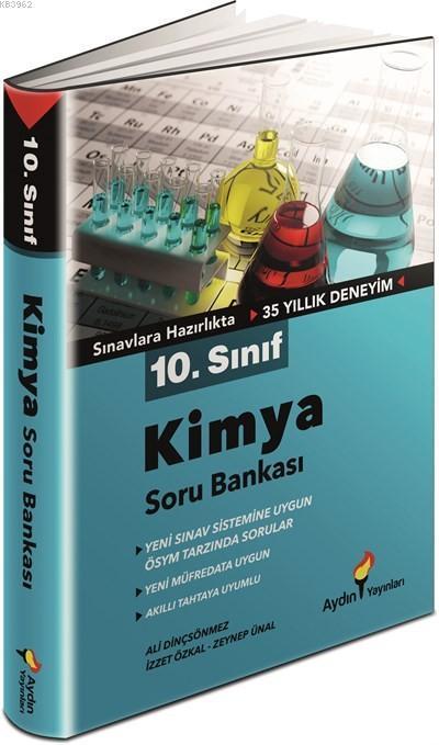 Aydın Yayınları 10. Sınıf Kimya Soru Bankası Aydın