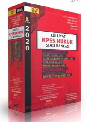 Külliyat KPSS Hukuk Soru Bankası Savaş Yayınları 2020