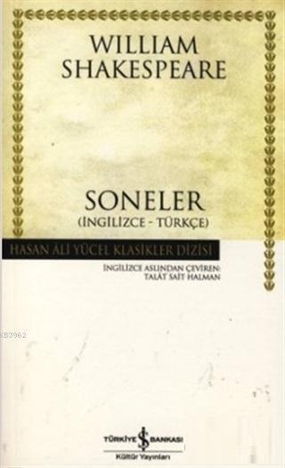 Soneler (İngilizce-Türkçe)