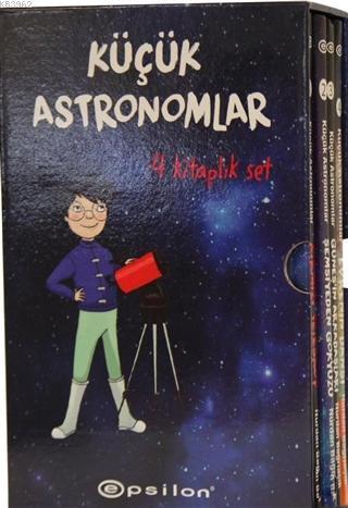 Küçük Astronomlar Serisi 4 Kitaplık Set