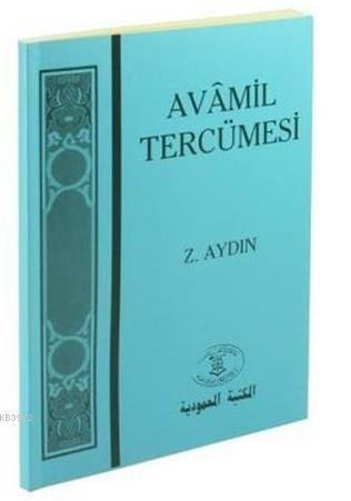 Avâmil Tercümesi; Sarf ve Nahiv
