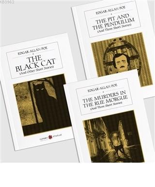 Edgar Allan Poe Seti - İngilizce (3 Kitap Takım)