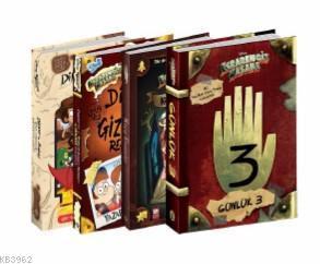 Disney - Esrarengiz Kasaba Mega Seti 4 Kitap
