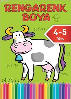 Rengarenk Boya 4 (4-5 Yaş)