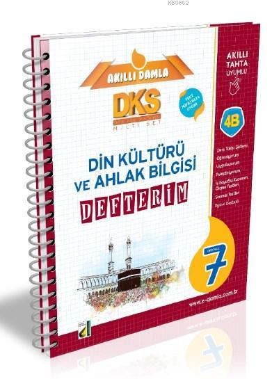 DKS 4B Din Kültürü ve Ahlak Bilgisi Defterim - 7. Sınıf