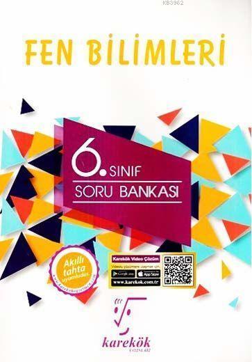 Karekök Yayınları 6. Sınıf Fen Bilimleri Soru Bankası