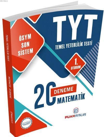 2018 YKS TYT Matematik 20 Deneme 1. Oturum