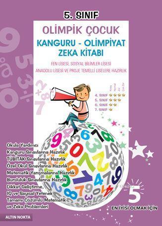 5.Sınıf Olimpik Çocuk Kanguru-Olimpiyat Zeka Kitabı